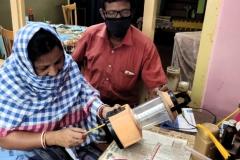 Making-of-Assembling-solar-lanterns
